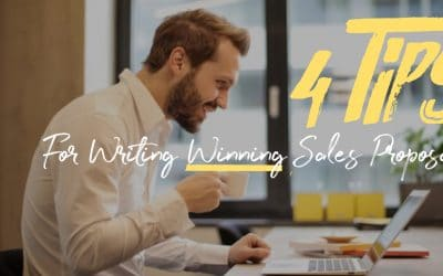4 Tips for Writing Winning Sales Proposals