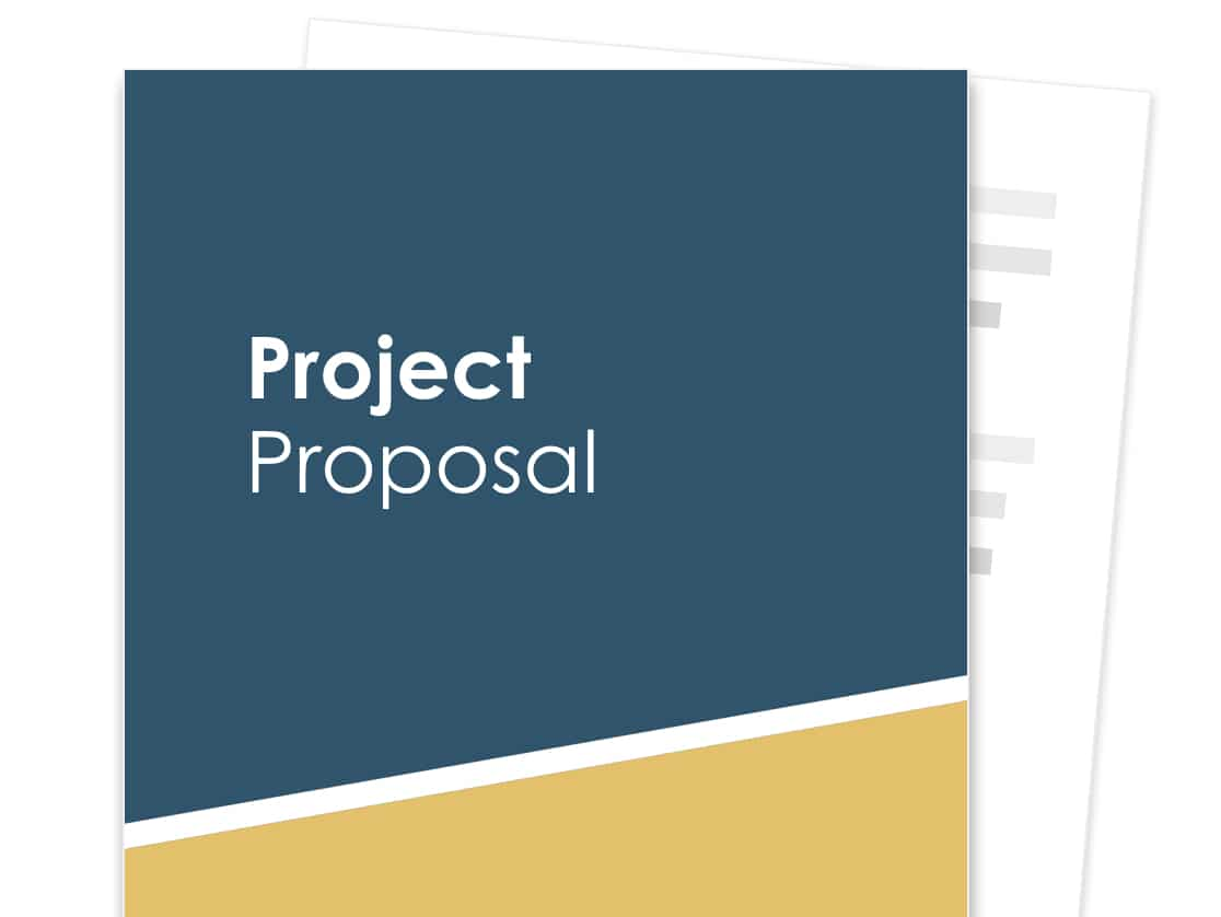 Project Proposal Template Free Sample Proposable