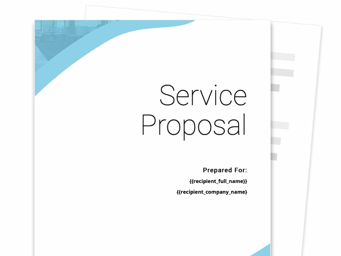 Service Proposal Template