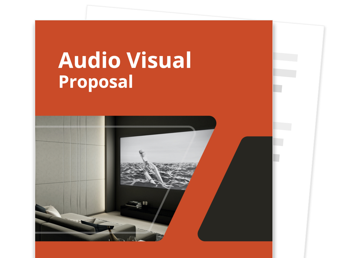 Audio Visual Proposal Template